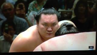 Sept 2012 - Day Six - Hakuho v Gagamaru