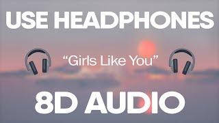 Maroon 5, Cardi B - Girls Like You (8D Audio) 🎧