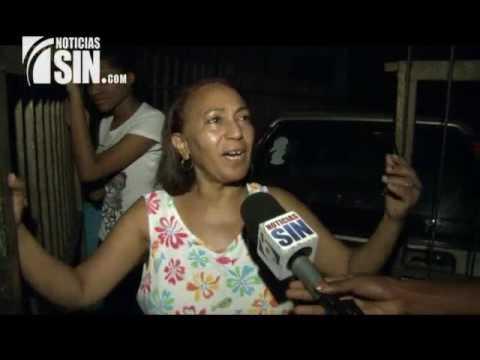Protestan por falta de energía eléctrica en el Ensanche Luperón