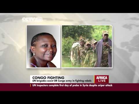 UN brigades assist DR Congo army to fight M23 rebels