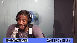 Iman Shumpert interview with Dj Kayslay at Sirius XM