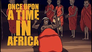 Once upon a time in Africa - Cartoon