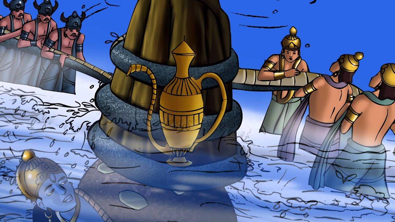 Animated Fish Wallpaper Hd Dashavtar Illustrated Story Kurma Avatar The Turtle