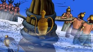 Dashavtar Illustrated Story - Kurma Avatar...The Turtle Incarnation