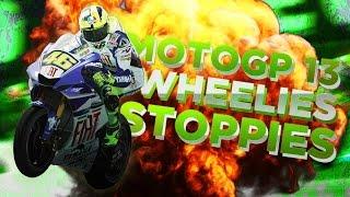 MotoGP13 - Wheelies and Stoppies (PC Gameplay)