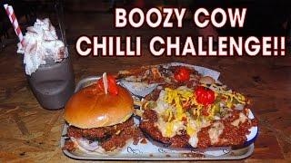 BOOZY COW'S SPICY CHILLI CHALLENGE!!