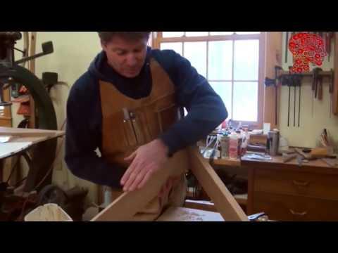 Woodworking # 82   DIY Making Half Round Desk - woodworking