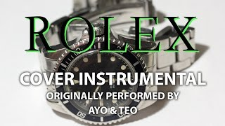 Скачать Rolex Cover Instrumental In The Style Of Ayo Teo