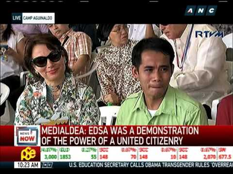 Duterte: No single entity can claim EDSA Revolution
