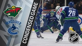 Minnesota Wild vs Vancouver Canucks – Mar. 09, 2018 | Game Highlights | NHL 2017/18. Обзор