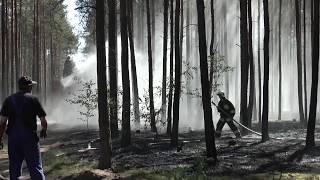 Trzcianka: Pożar lasu, spłonęło 5 hektarów