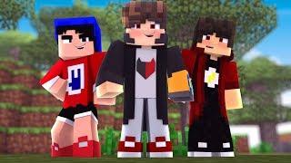 Minecraft: - MEU TIME DE AMIGOS - ‹ JUAUM ›