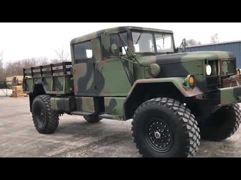 FOR SALE : M35A2 DEUCE & HALF 4 DOOR 4X4 MILITARY TRUCK