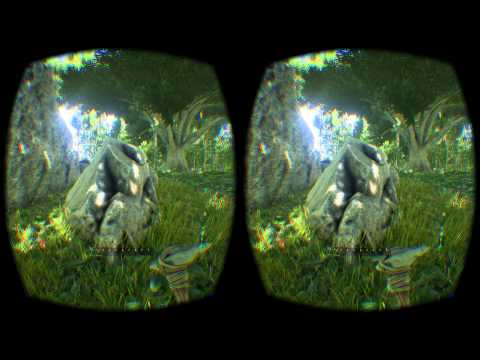 ARK:Survival Evolved in Virtual Reality (After day one patch)