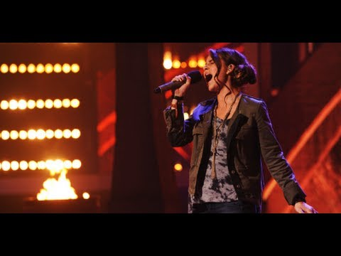 "Carly Rose Sonenclar ""If I Were a Boy"" - Live Week 6 - The X Factor USA 2012"