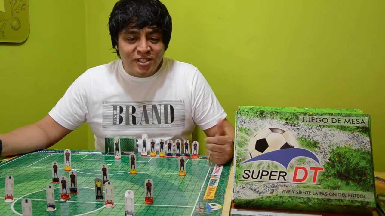 Super Dt En Que Consiste El Juego Futbol De Mesa Youtube