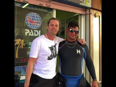 Mauritius open water dive