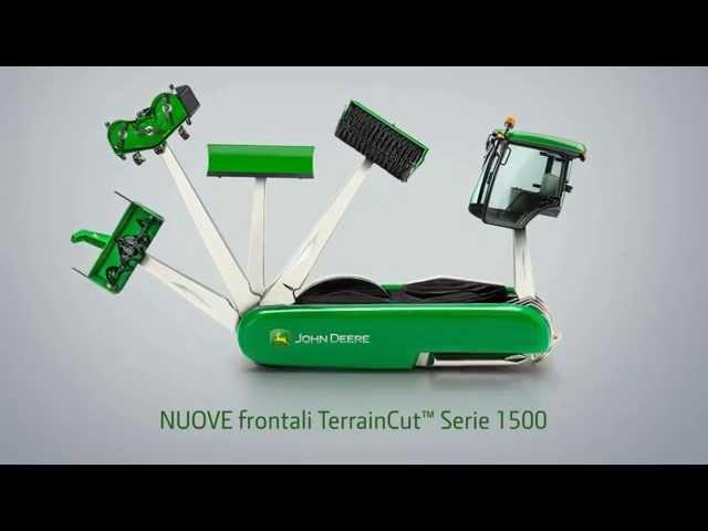 Frontali John Deere TerrainCut Serie 1500
