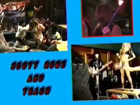 """Scott Rowe"" - Alice Cooper - Impressionist - 1993"