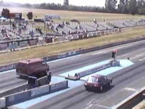 1972 Dodge Van @ Mopar Nationals Woodburn Oregon, 2008, Runs Low 12's