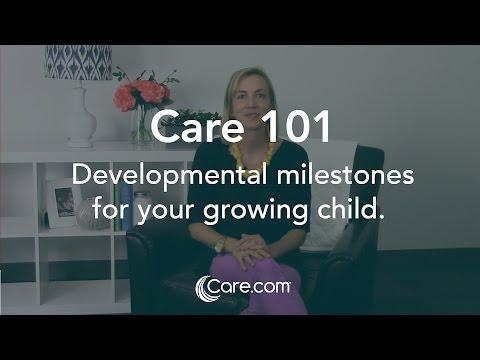 Developmental milestones for your growing child