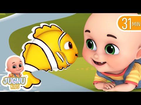 मछली जल की रानी है  - Hindi Rhymes   Hindi kahani   Nursery Rhymes from jugnu Kids