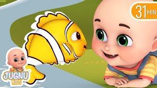 मछली जल की रानी है  - Hindi Rhymes | Hindi kahani | Nursery Rhymes from jugnu Kids