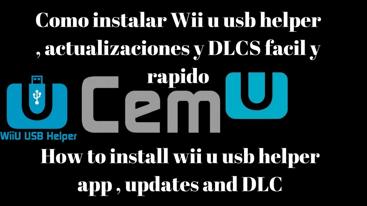 Como instalar Wii u USB helper updates + DLC | How to install wii u usb  helper , updates and DLC by Games4eternity