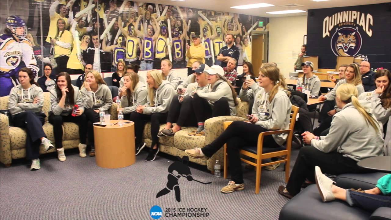 Quinnipiac Womens Ice Hockey Viewing Ncaa Selection -1578