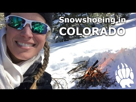 SOLO Snowshoeing In Colorado With A Fire- Our Journey :: Episode #14