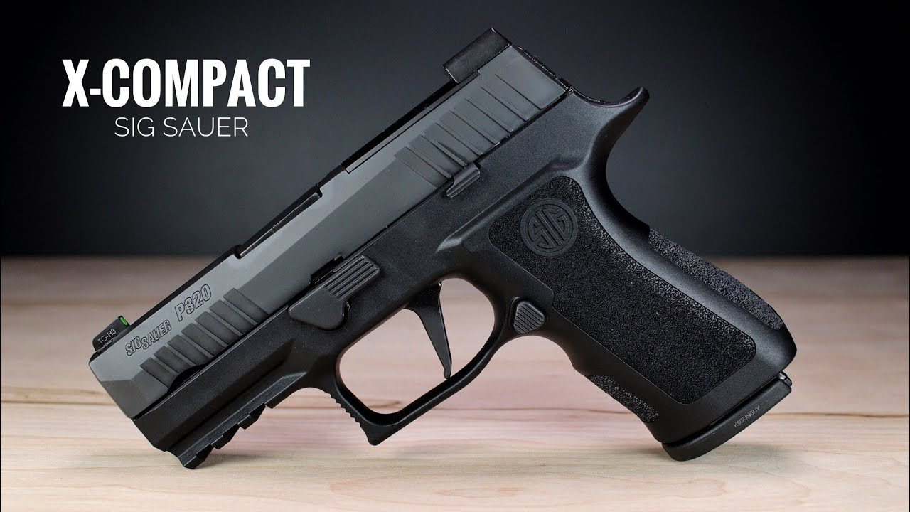 Sig Sauer P320 X-Compact - This May Be The Best P320!