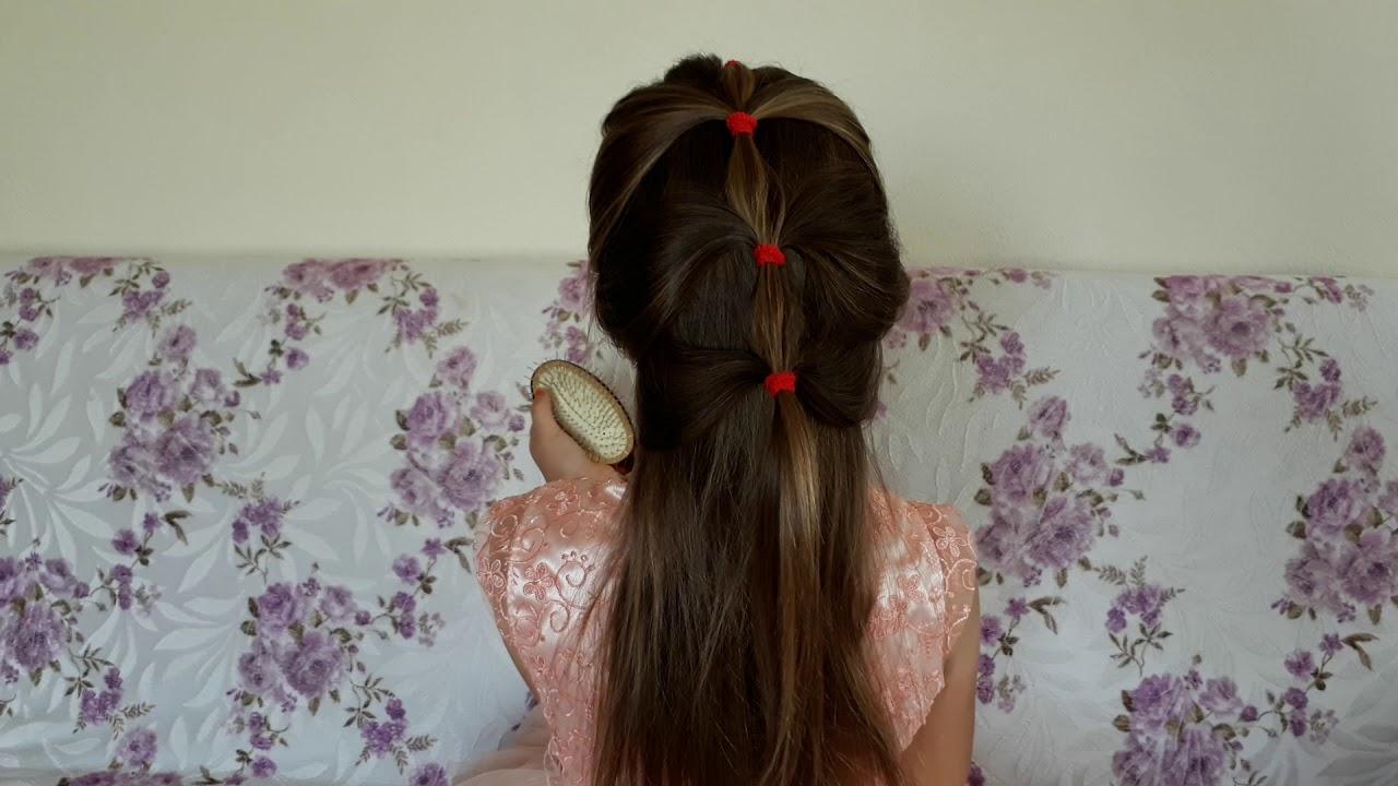 Örgülü Çocuk Okul Saçı Yapılışı Video