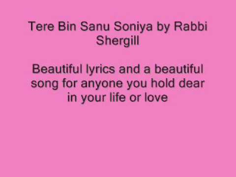 Tere bin rabbi shergill mp3 download songs. Pk.