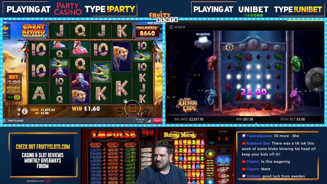 Стрим казино / казино онлайн Super Slots / Розыгрыш денег