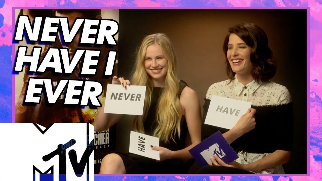 Jack Reacher: Never Go Back Cast Play I Have Never   MTV ...