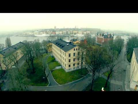 Drone flight over Stockholm - DJI Phantom