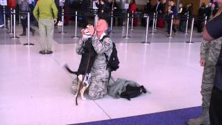 My Deployment Homecoming Surprise