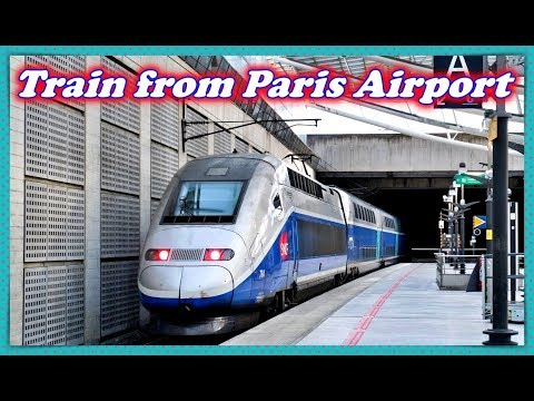 How To Reach Train Station From Terminal At Paris Charles De Gaulle Airport !
