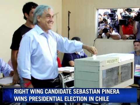 Billionaire wins Chile's presidency