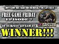 GIVEAWAY WINNER ANNOUNCED | AMERICA'S ARMY: PROVING GROUNDS (FREE GAME FRIDAY #7)