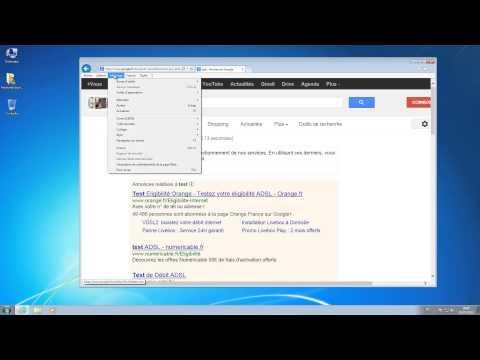 Agrandir ou Réduire l'affichage dans Internet Explorer
