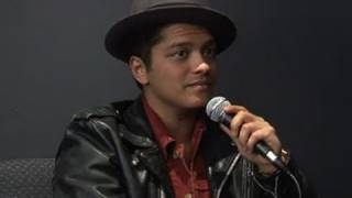 Bruno Mars Interview - He Uses His Fame To Pick Up Girls!