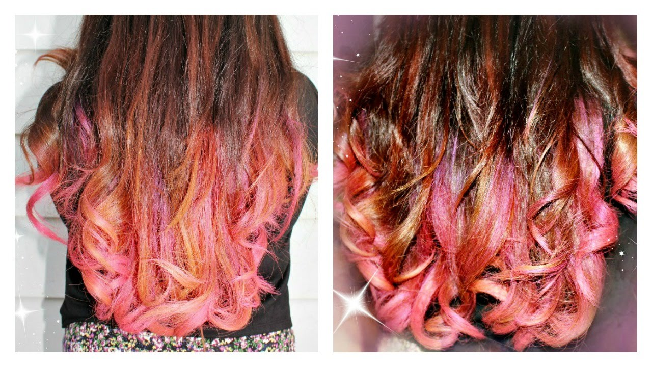 Garnier Color Styler Intense Wash Out Hair Color Pink Pop Review