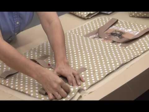 Como hacer un Bolso para la Maquina de coser. 3/5 - YouTube