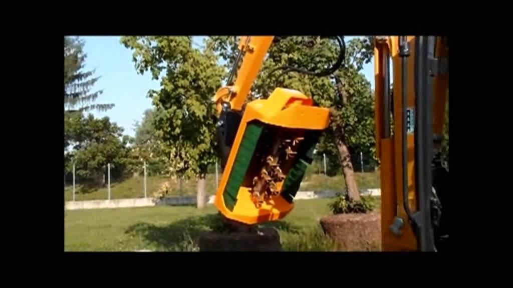Tete de broyage CMS matériel forestier - YouTube b8ebd68f8f78