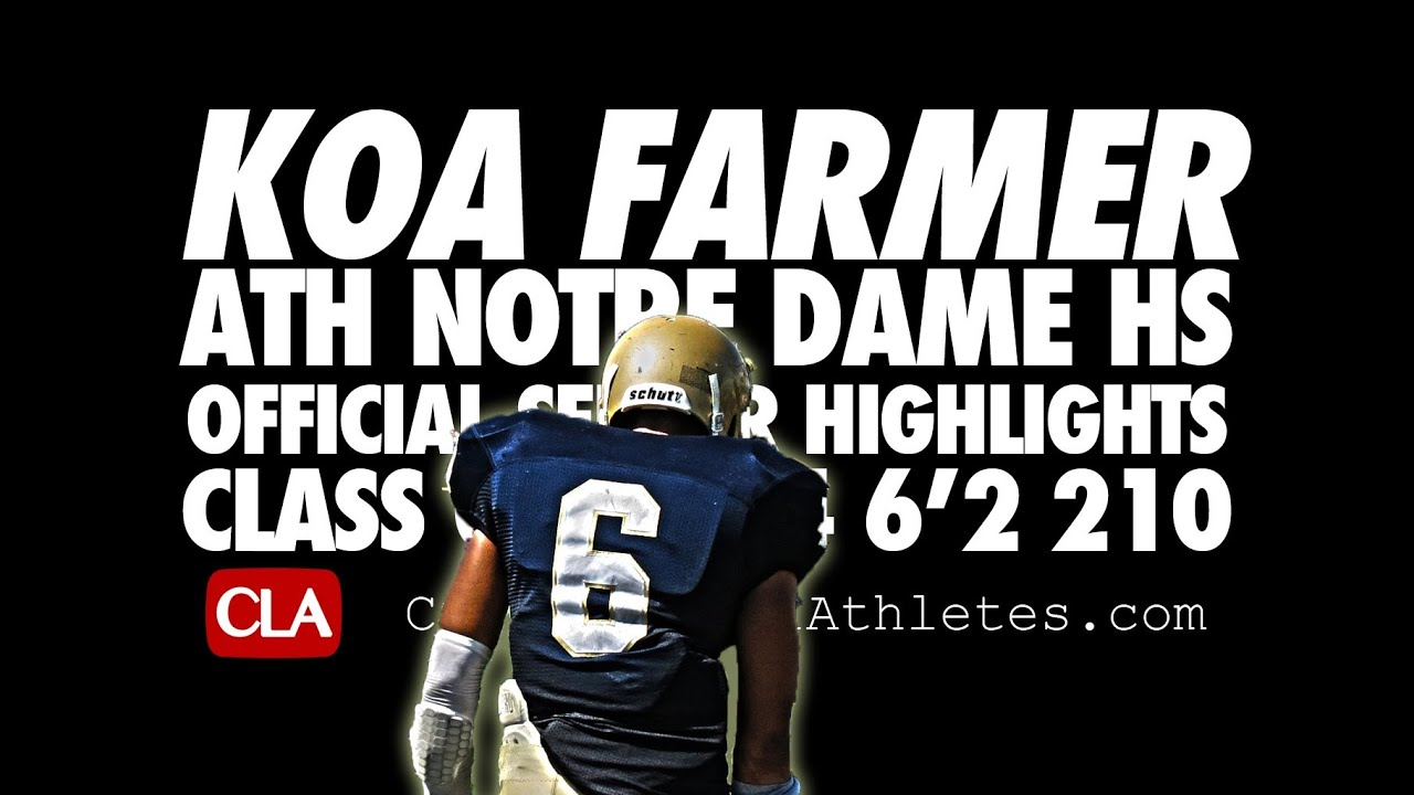 check out b01db 20b79 Meet Koa Farmer, Penn State's First Californian Recruit in ...