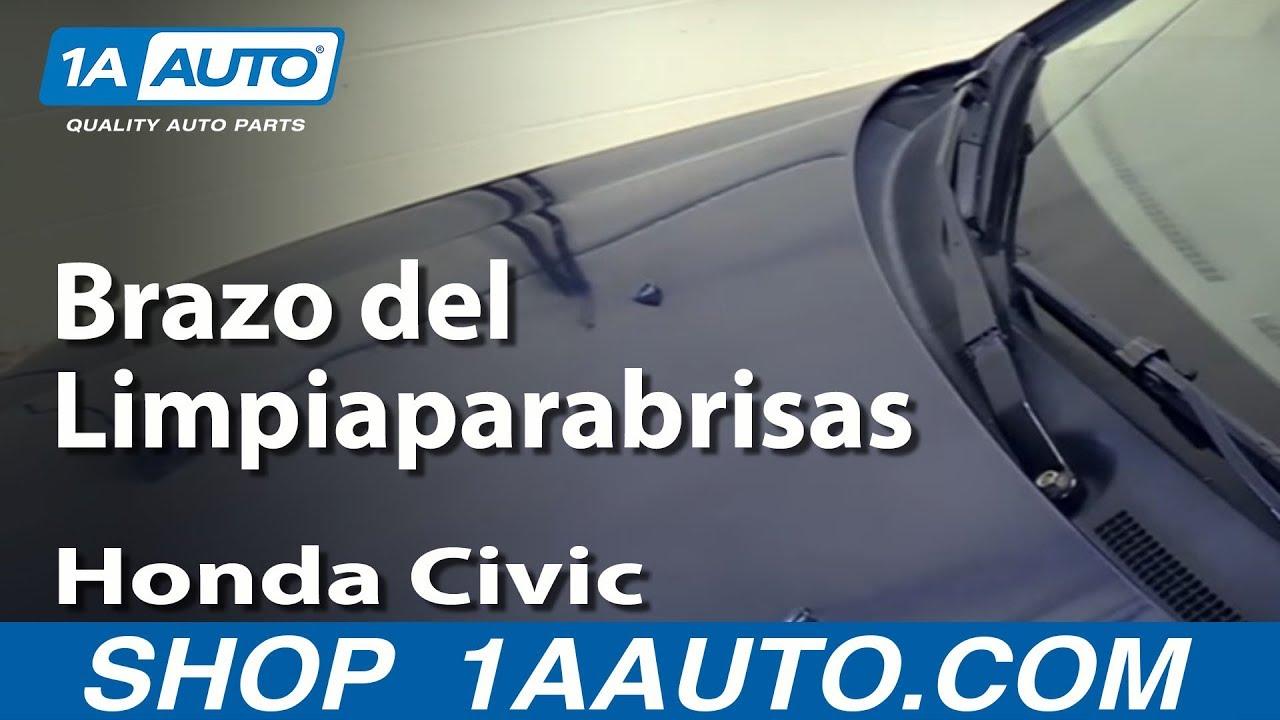 Como Remover E Instalar El Brazo Del Limpiaparabrisas 2001