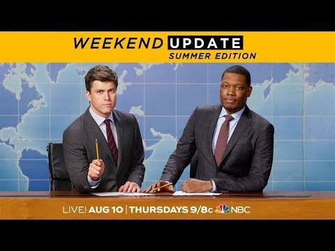 Download Youtube: Colin Jost and Michael Che Are Back - SNL