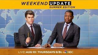 Colin Jost and Michael Che Are Back - SNL