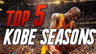 the 5 greatest seasons of kobe bryants career